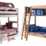Etagenbetten oder Stockbetten – ein Schlafplatz für Zwei oder mehr