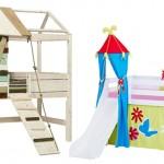 Das Spielbett ist multifunktional und macht Spaß! Spiel- und Schlafmöbel zugleich.
