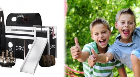 sicherheit ist wichtig im kinderzimmer und beim hochbett hochbett. Black Bedroom Furniture Sets. Home Design Ideas