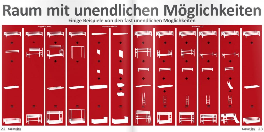 Hoppekids Hochbett: Kombinations-Möglichkeiten | hochbett-berater.de