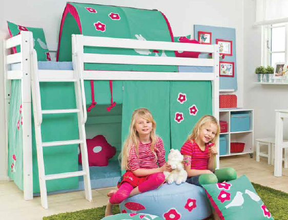 das hochbett von hoppekids xxl und hoppekids deluxe im test hochbett. Black Bedroom Furniture Sets. Home Design Ideas